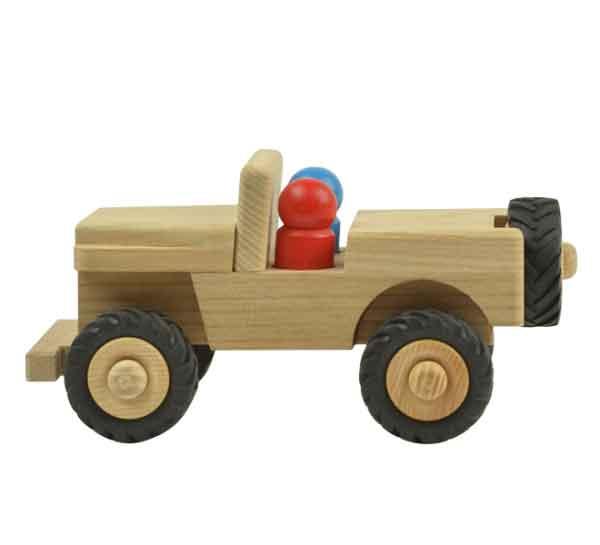 Houten speelgoed Jeep Jansen en Jansen