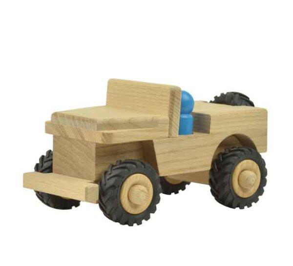 Houten speelgoed Jeep