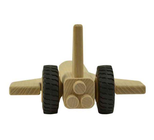 Houten speelgoed spaceshuttle