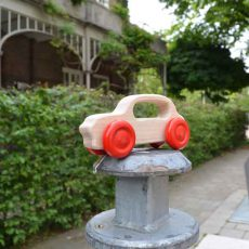 Houten speelgoed Cabby, Londense taxi