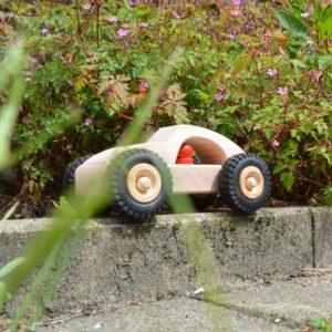 Houten speelgoed auto Henk