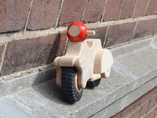 Houten speelgoed scooter